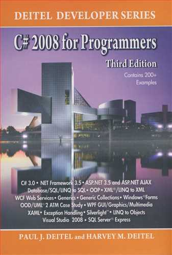 C#2008 FOR PROGRAMMERS